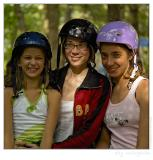 The Three Graces...in helmets