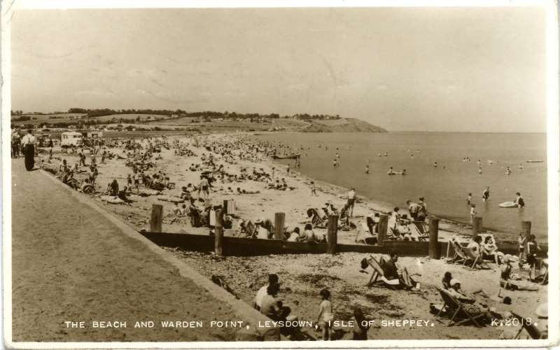 Beach & Warden point, Leysdown