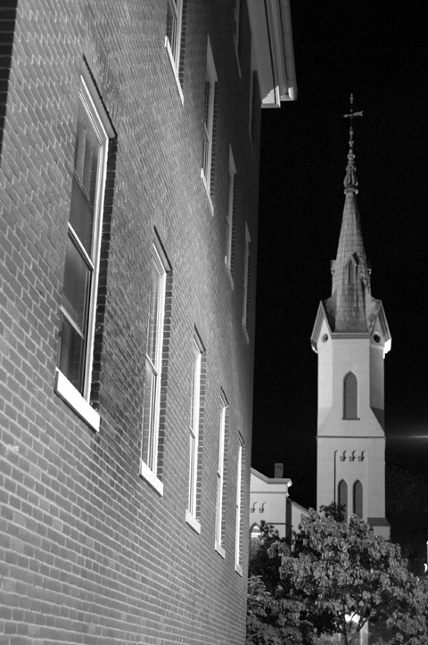 Building and Steeple BW.jpg