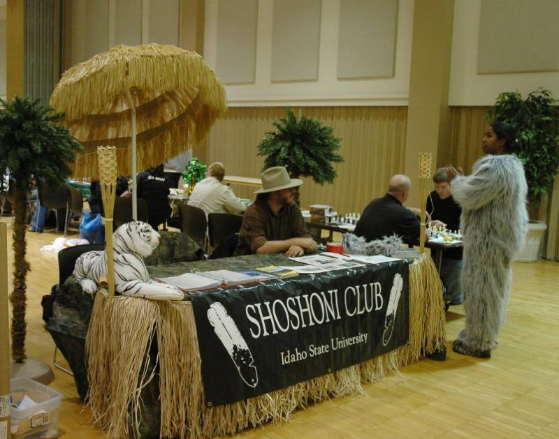 Shoshoni Club Booth and Chess Players DSC_6626.JPG