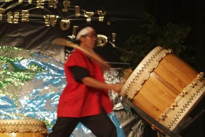 Taiko Drummer ISU International Night 2005 DSCF0220.jpg