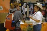Mary Anne Benner at VMG Booth during Student Organization Fair 2005 DSC_6624.JPG