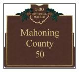 Mahoning County Historical Markers