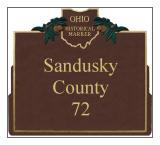 Sandusky County Historical Markers