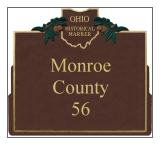 Monroe County Historical Markers