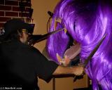 Purple Wig Attack!  Aug 12
