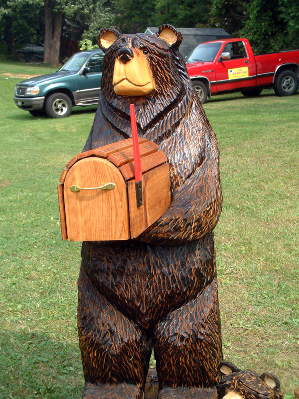 bear mailbox photo pemkid photos at