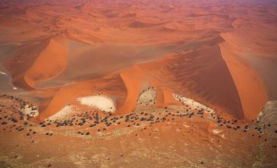 Sossus Vlei Region, Namib Desert - Aerial View-