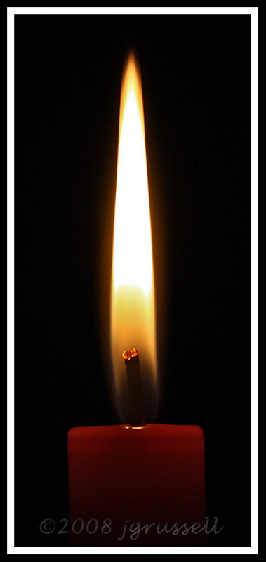 Light one candle...