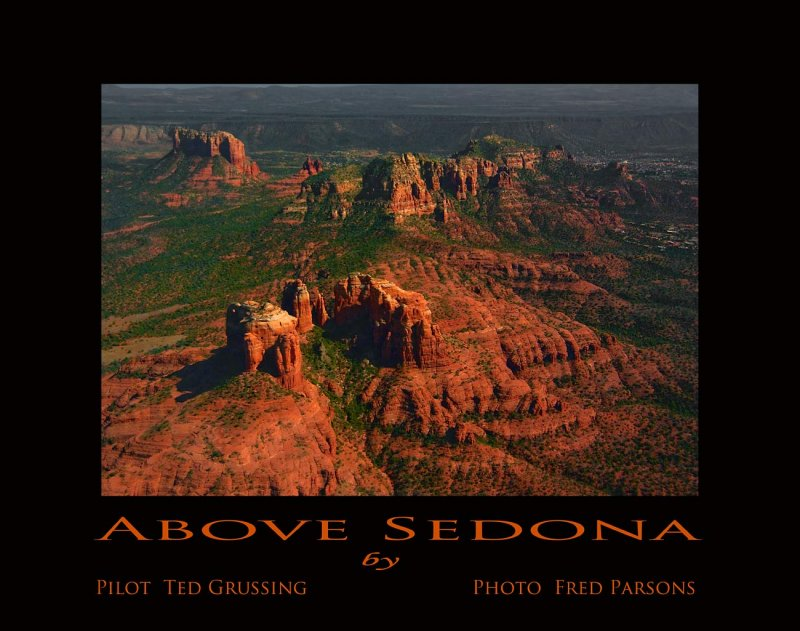 First Image in a New Series - Sedona by Air