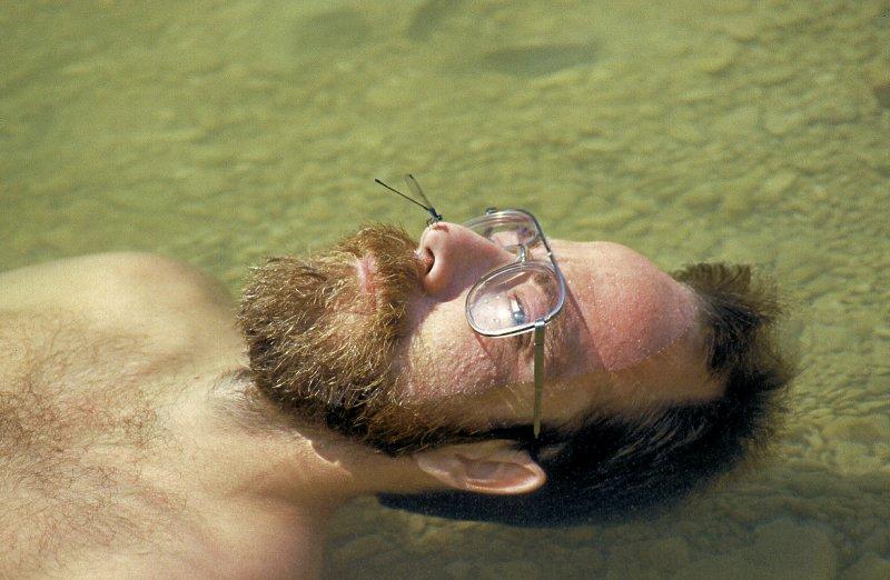 Floating in Barton Creek