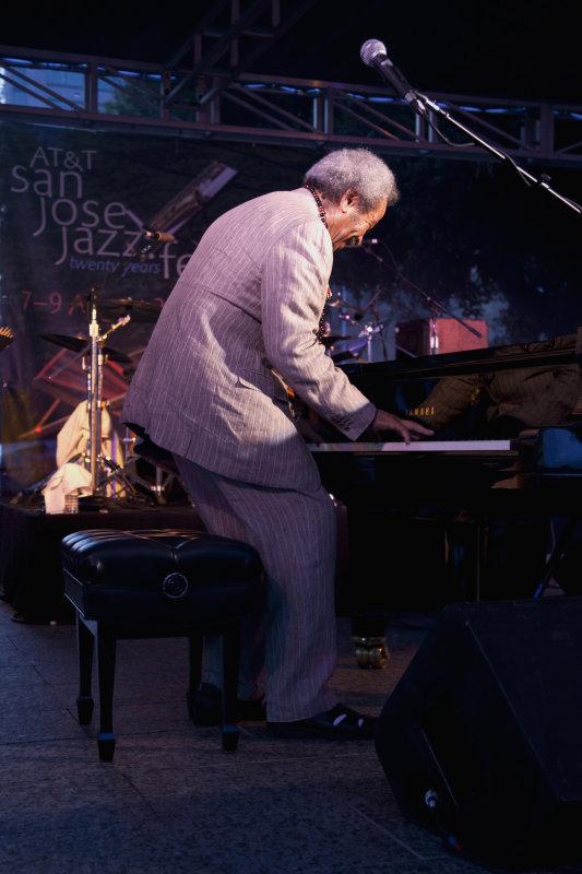 Allen Toussaint, Jazz Fest - San Jose, CA  2009