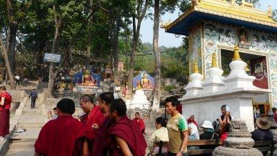 Une importante communauté tibétaine habite maintenant le Népal