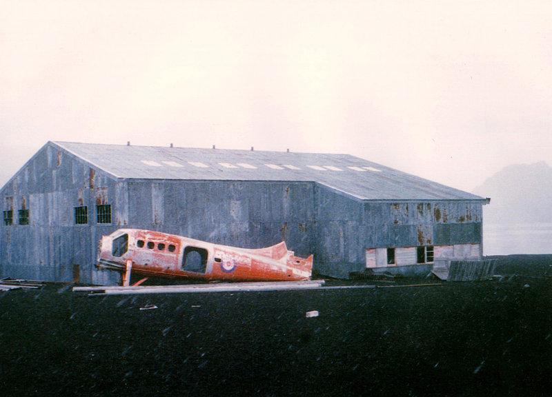 Deception Island Otter Fuselage