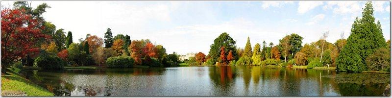 Sheffield Park Garden Panorama