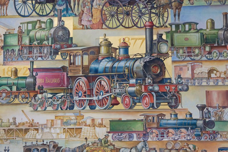 3550 - 11:46 Victoria Railways, Welcome Aboard!