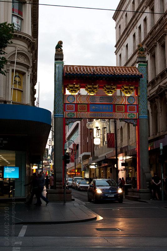 12968 Chinatown at Dusk