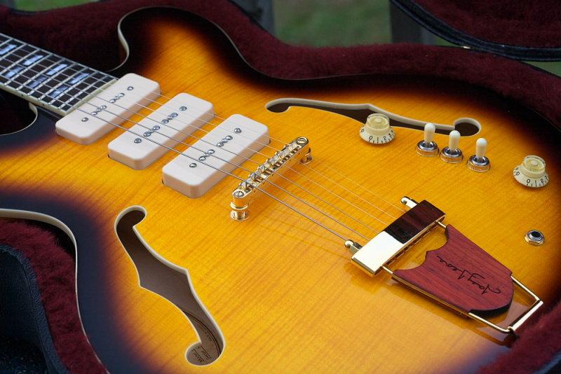 Eastwood Joey Leone 335 3 P90 Style Semi Hollowbody My Les Paul Forum