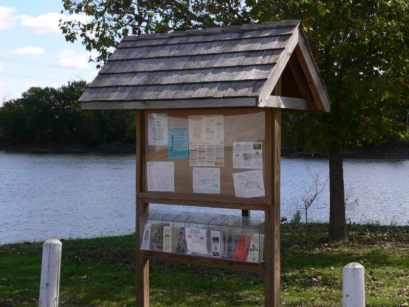 Kiosks for the water trail