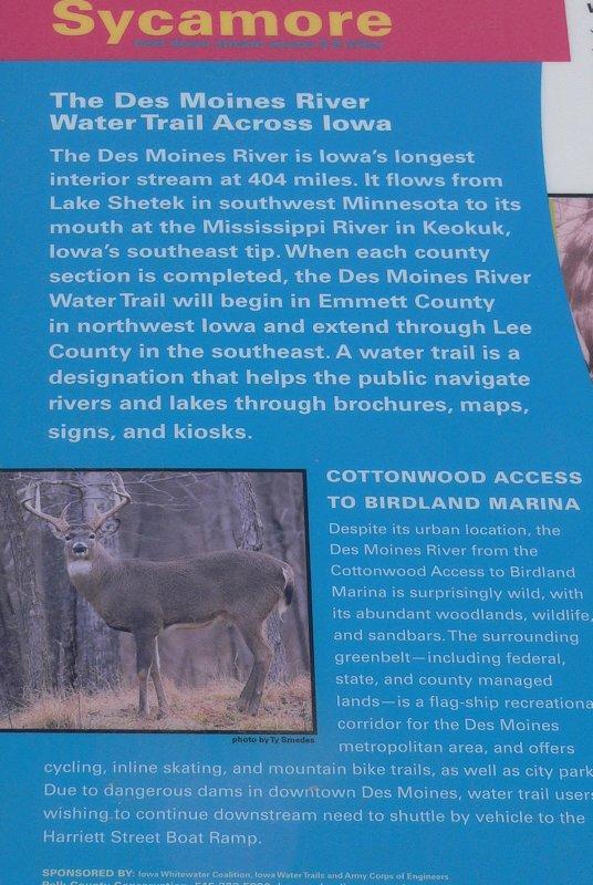 Water trail Kiosk -panel 1