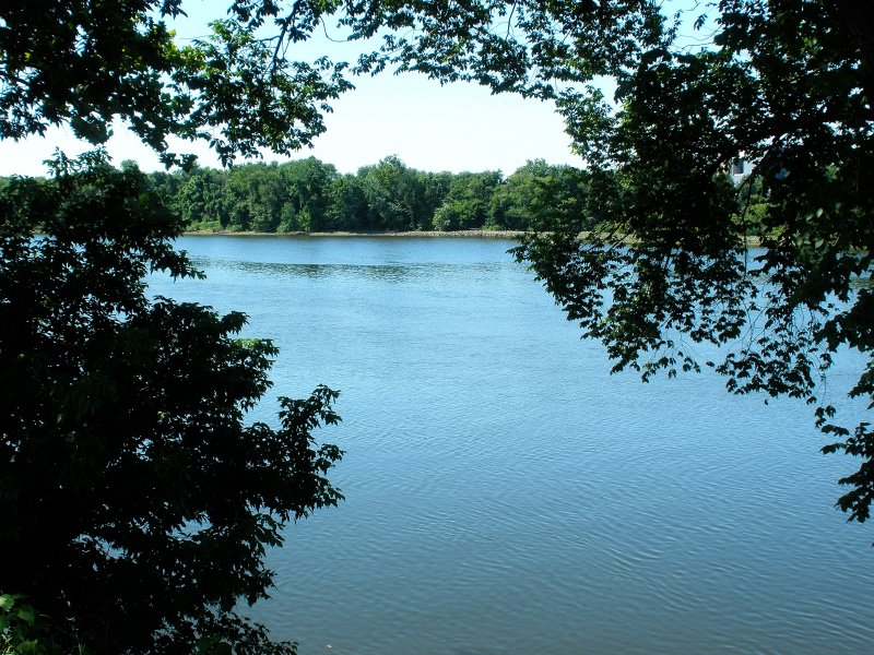 View of the Deleware River from the Park