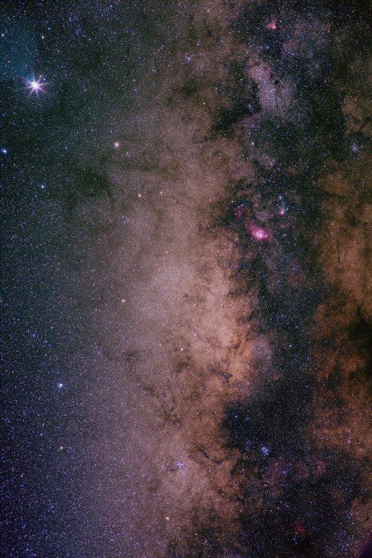 Sagittarius with galactic centre