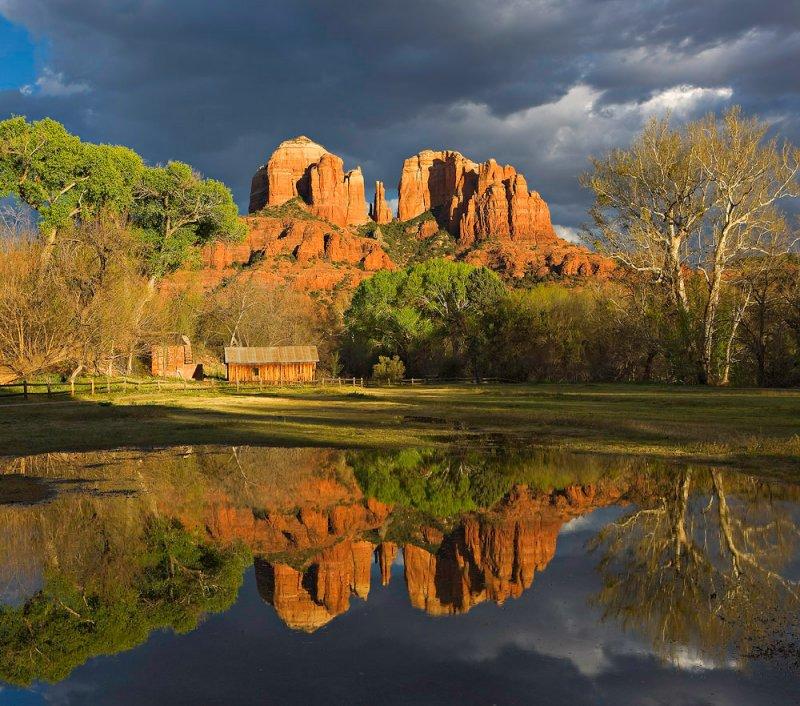 Cathedral Rock, Crescent Moon Ranch, Sedona