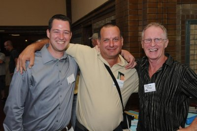 Chris Clune (ExactRail), Brian Rutherford and Eddie Ryan