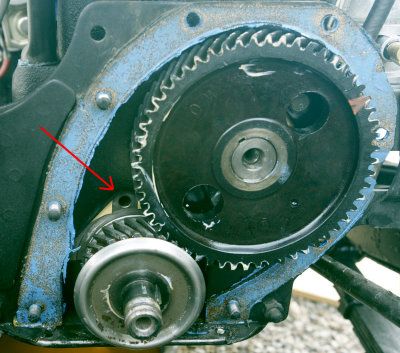 the cj3a page forum low no oil pressure i pulled the timing cover and thought i would share what i found