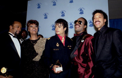 Michael  Jackson 1986 Grammy Awards