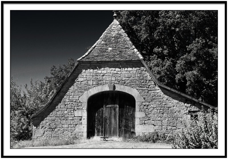 Chapel close to the city of Padirac