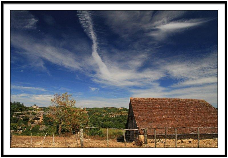Farmhouse in the countryside of Perigord