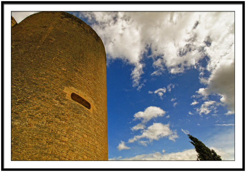Fortified tower in Castelnaud