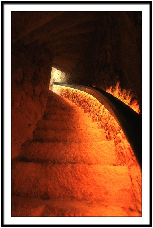 Stairway in Castelnaud