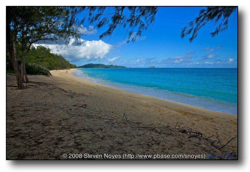 Secluded : Kaiona Beach Park : Oahu Hawaii