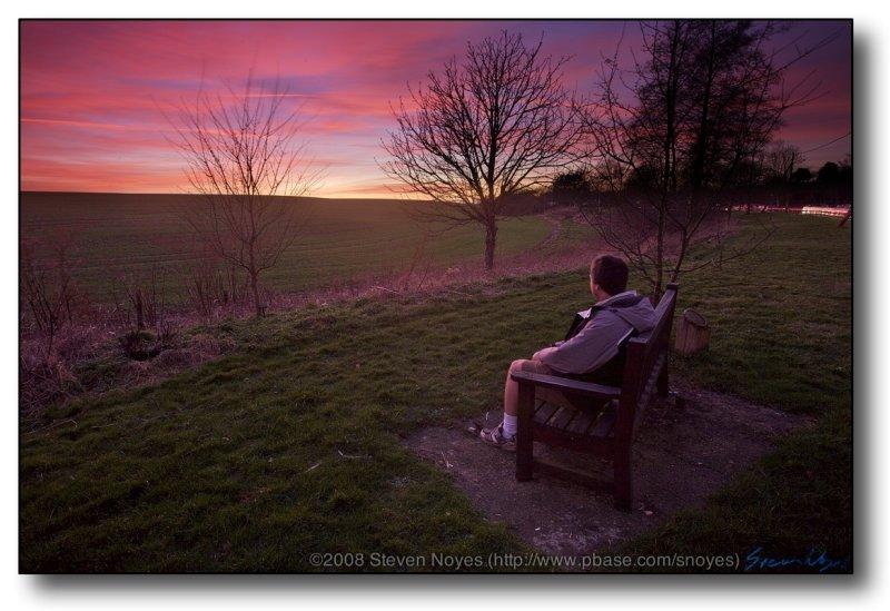 Tring, UK : Pondering Sunsets