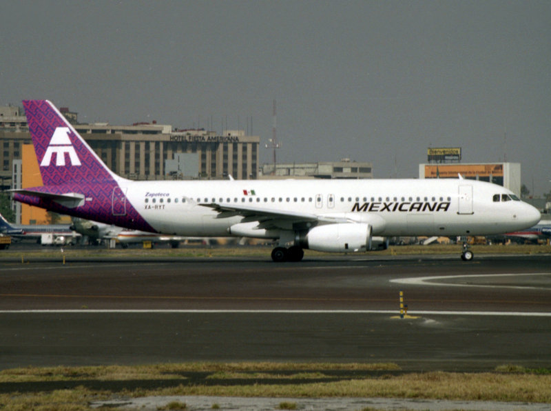 A320   XA-RYT