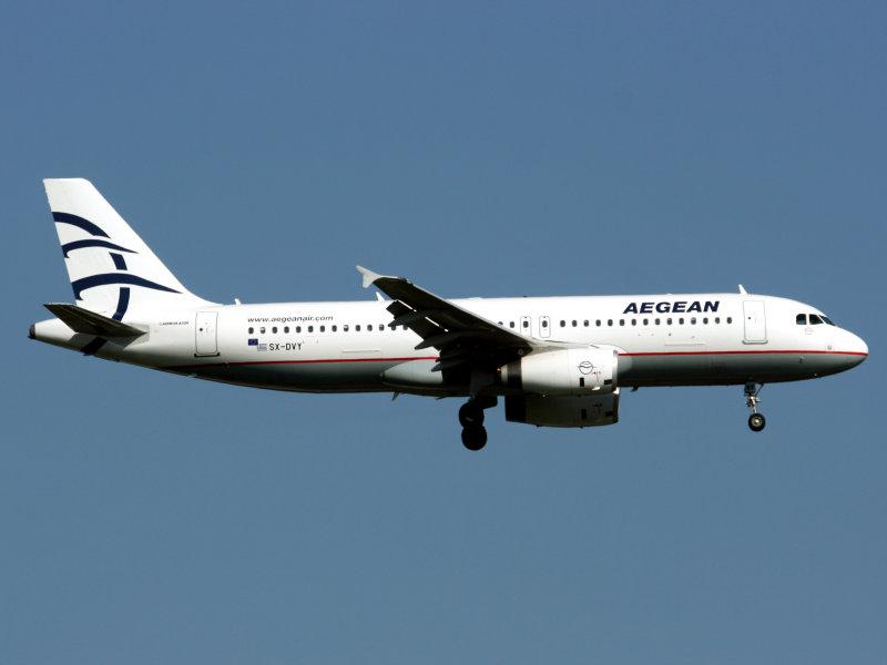 A320  SX-DVY