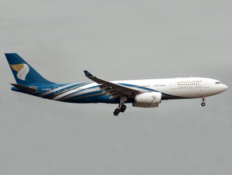 A330-200  VT-JWD