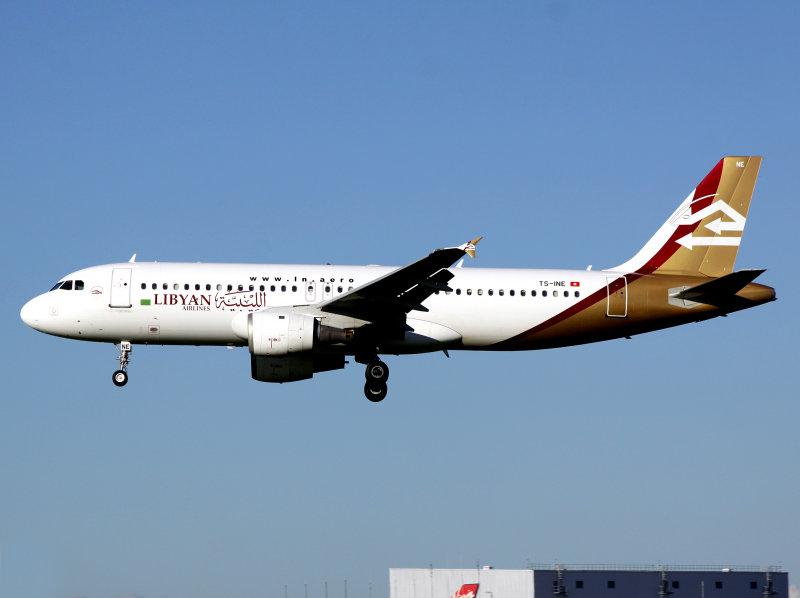 A320  TS-INE
