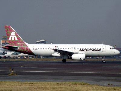 A320    XA-RZU