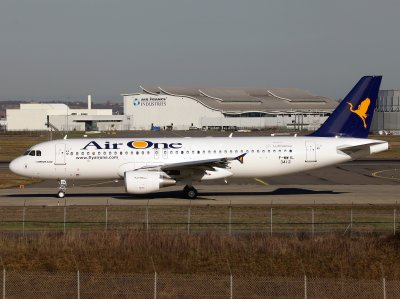 Airbus A320 F-WWIL-3412