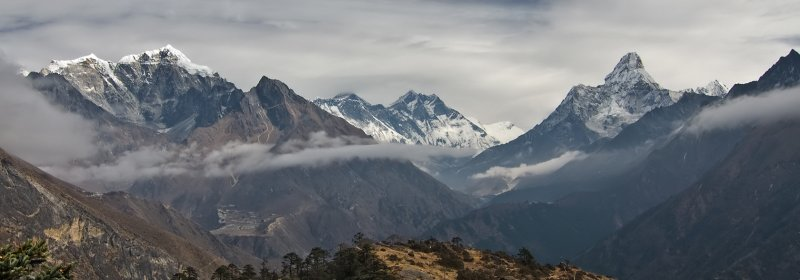 Everest View Panorama