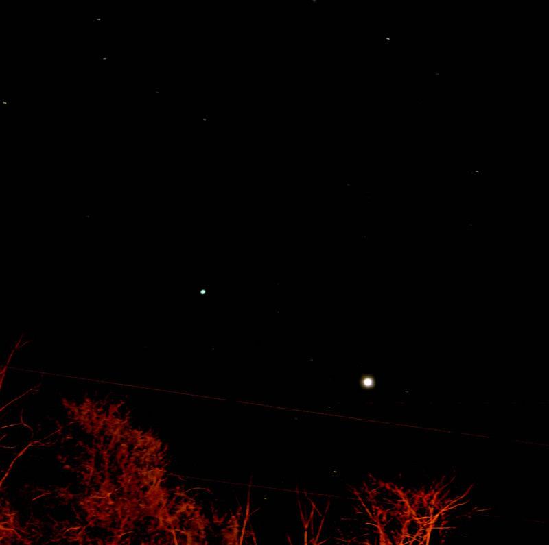 Uranus & Venus Made 1/21/09 @ 8:30 PM @ 5 s