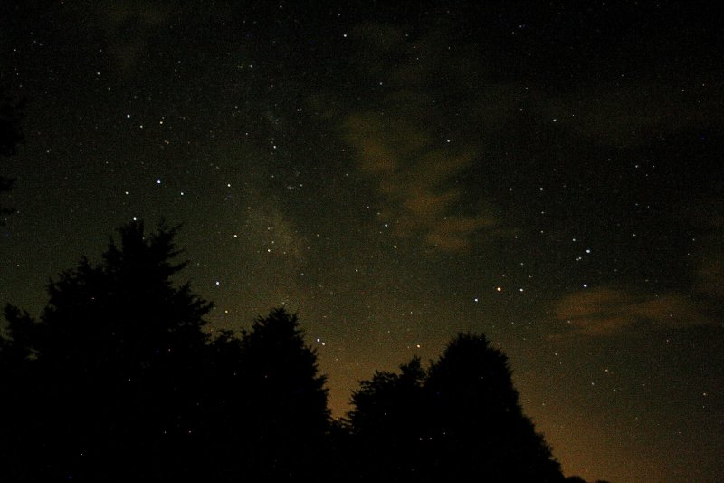 Part of the Constellations Scorpius & Sagittarius, Made At Stone Mt. Camping