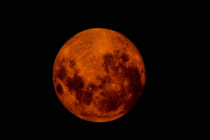 Photo Made with 20- mm lens 0n the Telescope with a yellow Filter/9/03/09