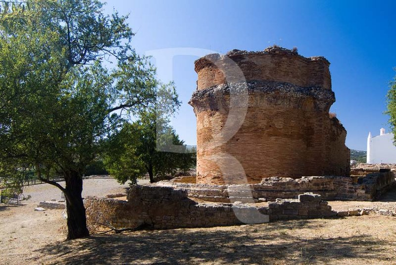Ruinas Romanas de Milreu - OTemplo (MN)