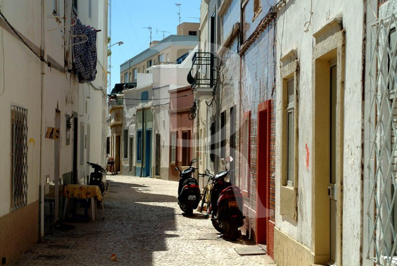 The Streets of Olhão