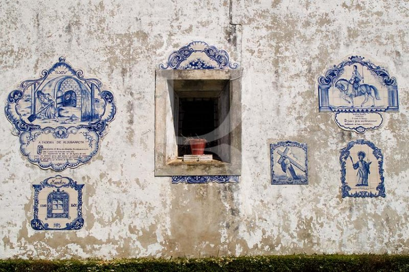 Os Azulejos da Casa do Celeiro