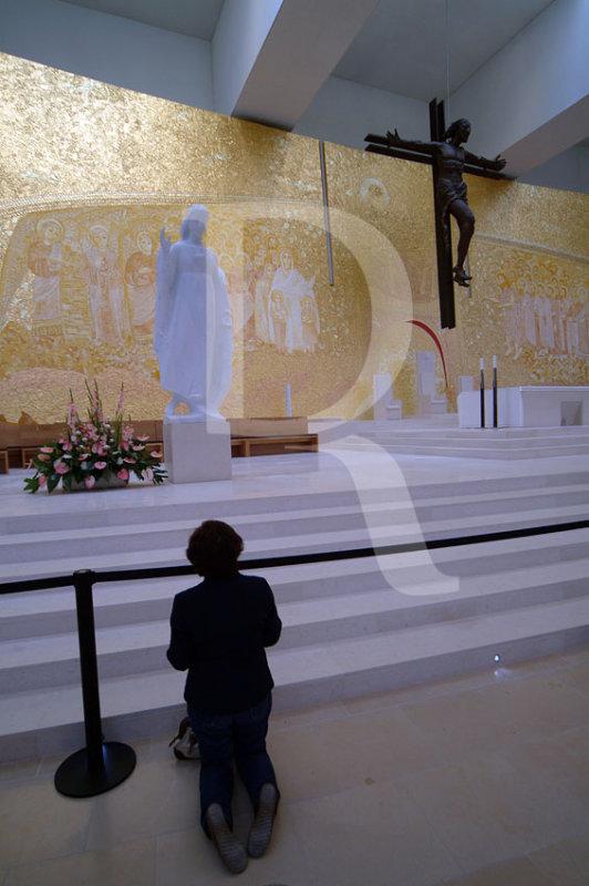O Presbitério da Nova Igreja de Fátima